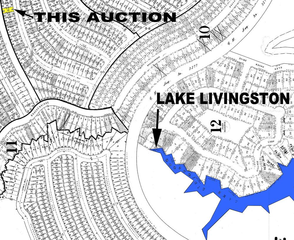 lake livingston village map Zip Code Map Lake Livingston Village Map lake livingston village map